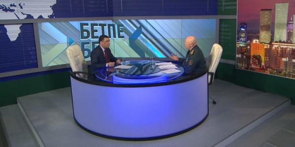 «Бетпе-бет». Вице-министр обороны РК Мурат Майкеев