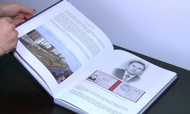 Книгу о Н.Назарбаеве перевели на азербайджанский язык