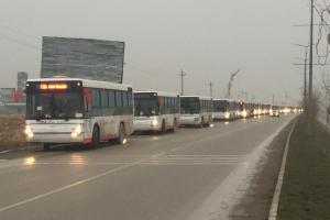 Шымкентке 30 жаңа автобус жеткізілді