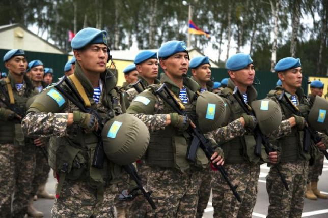 Учения миротворческих сил ОДКБ состоятся в Казахстане
