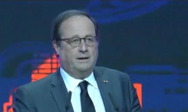 Выступление Франсуа Олланда