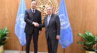 А.Гутерриш: ООН признательна Казахстану за его миротворческие усилия