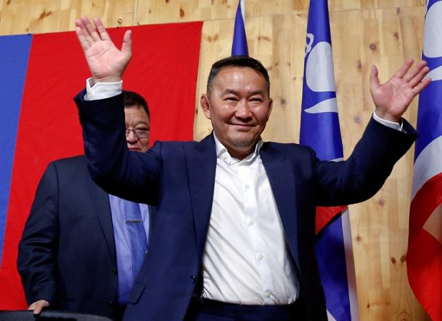 Победителем президентских выборов в Монголии официально объявлен Баттулга