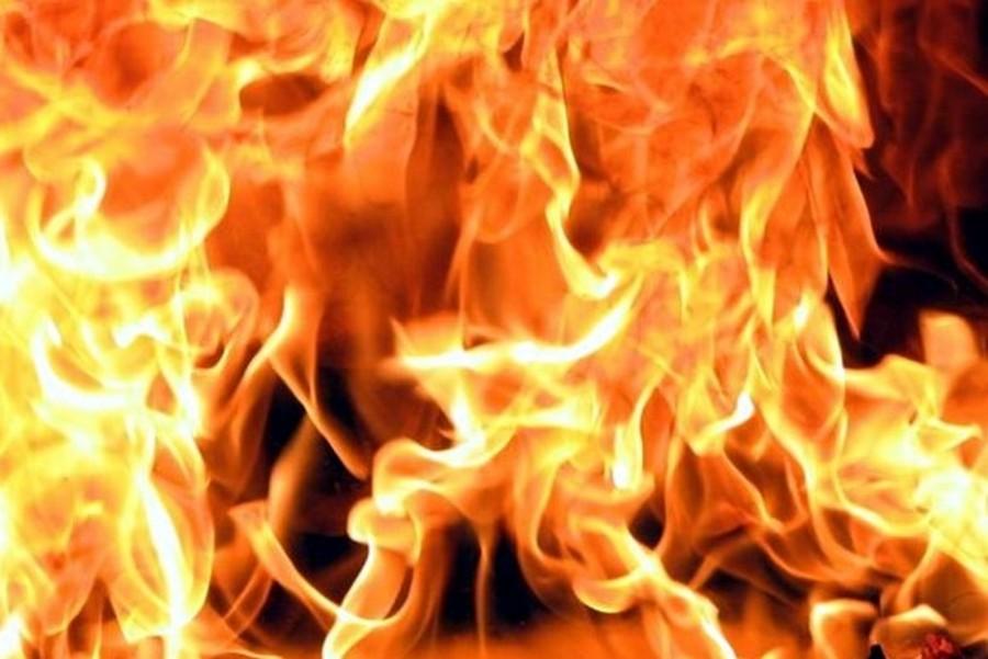 На алматинском рынке произошел пожар