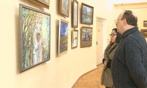 Художники Караганды представили историю родного края в своих полотнах