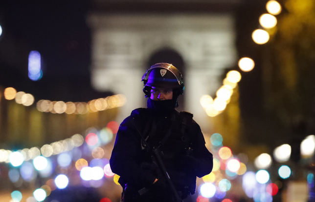 В центре Парижа произошла перестрелка