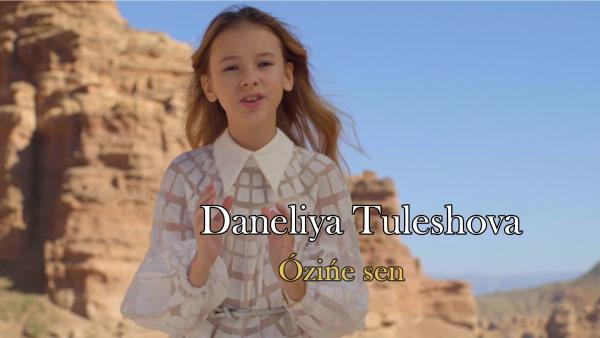 Junior Еurovision 2018: Данэлия Тулешова «Өзіңе сен» әніне бейнебаянын ұсынды