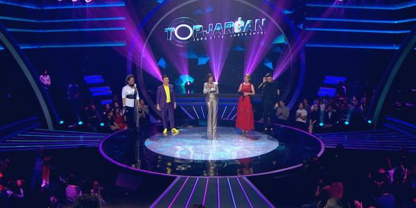 Музыкальное шоу вокалистов «Topjarǵan». Айчурек Сулейменова, Әmre, Дәуренбек Мерғалиев, Мөлдір Бақытжанқызы