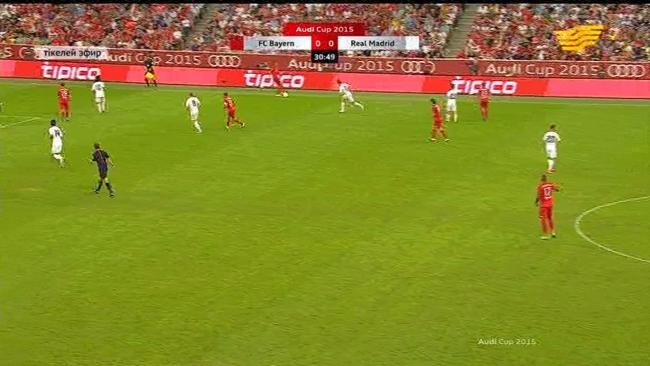 Audi cup. «Бавария» - «Реал Мадрид» 1:0
