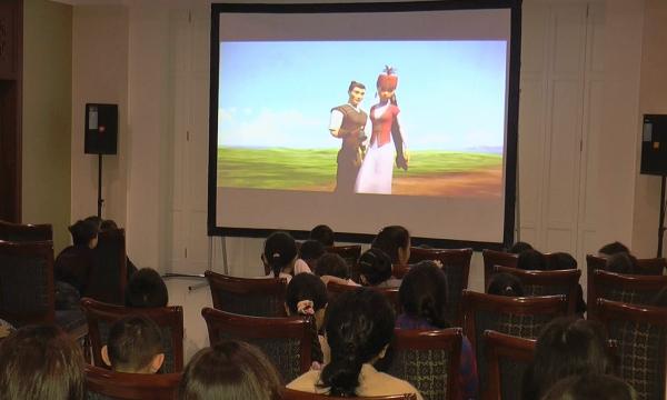 Тұңғыш Президент күніне орай Бейжіңде «Ер Төстік пен Айдаһар» мультфильмі көрсетілді