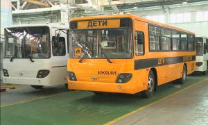 Машиностроители Семея приступили к сборке школьных автобусов