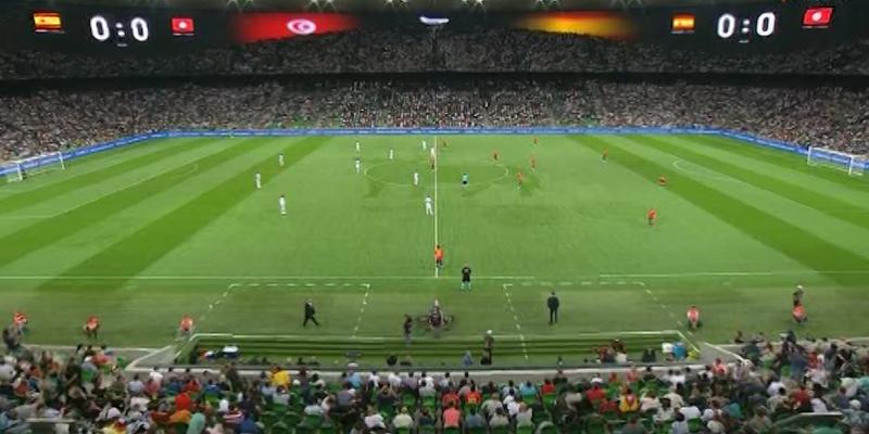 «Испания – Тунис» товарищеский матч по футболу