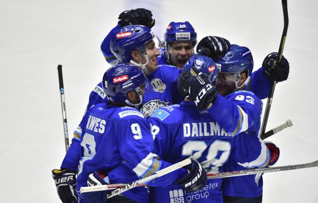 «Барыс» в Астане победил «Витязь» и набрал очки в восьмом подряд матче КХЛ