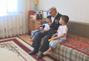 96-летний ветеран войны из Актау едет на EXPO 2017