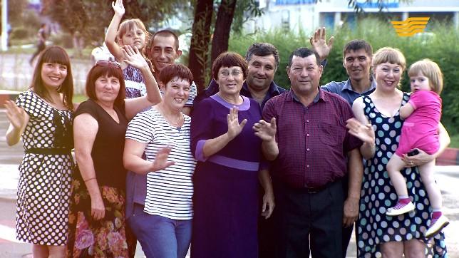 «Мерейлі отбасы». Семья Ганеевых, Павлодарская область