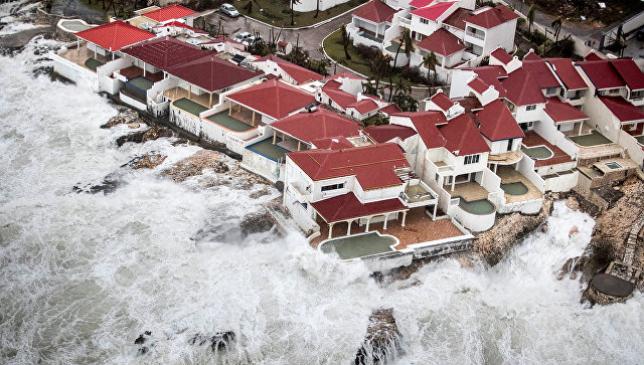 Ураган «Ирма» усилился до максимальной пятой категории