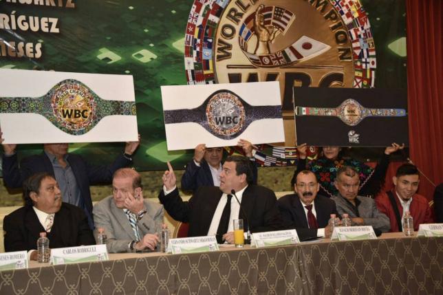 WBC придумал новый специальный пояс для боя Головкина и Альвареса