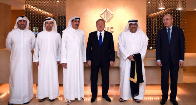 Мемлекет басшысы Дубай халықаралық қаржы орталығында болды