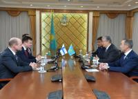 Қасым-Жомарт Тоқаев фин парламентшілерімен кездесті