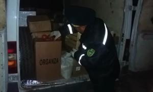 Провоз 140 тонн заражённой сельхозпродукции пресечен за сутки на казахстанско-кыргызской границе