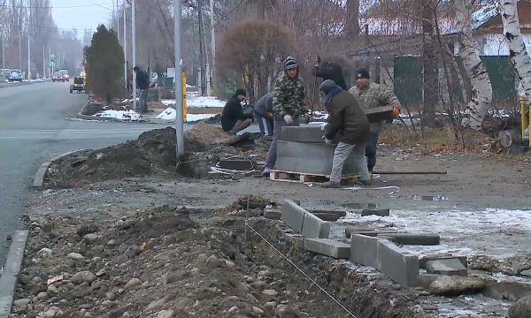 В Талдыкоргане отремонтируют 117 улиц