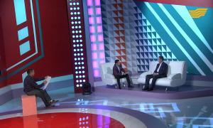 «Орталық Хабар». Ермек Аманшаев, Алтынай Жорабаева, Қайрат Нұртас, Айдос Орынғалиев