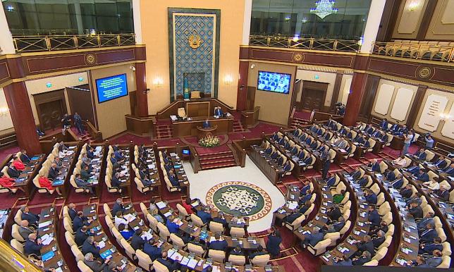 Парламент Казахстана подвел итоги II сессии VI созыва