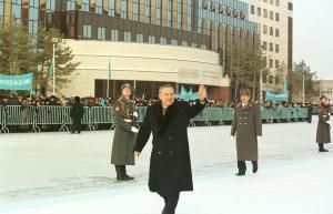 Акорда опубликовала архивный снимок Нурсултана Назарбаева