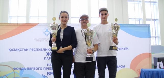 Определены победители первых детских Паралимпийских стартов