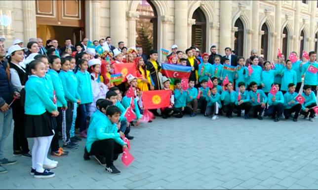 Әзербайжандағы ұлттық ойындар фестивалінде қазақстандықтар да бақ сынауда
