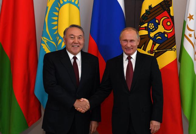 Нұрсұлтан Назарбаев ТМД-ға мүше мемлекеттер кеңесінің отырысына қатысты
