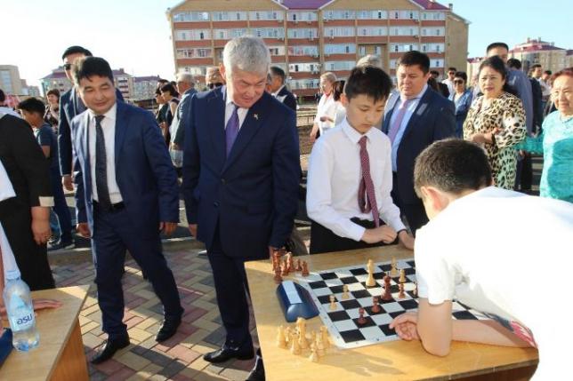 В Актобе открыли первый в Казахстане Парк здоровья