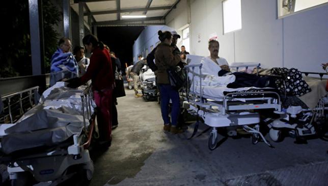 Количество жертв землетрясения в Мексике выросло до 58