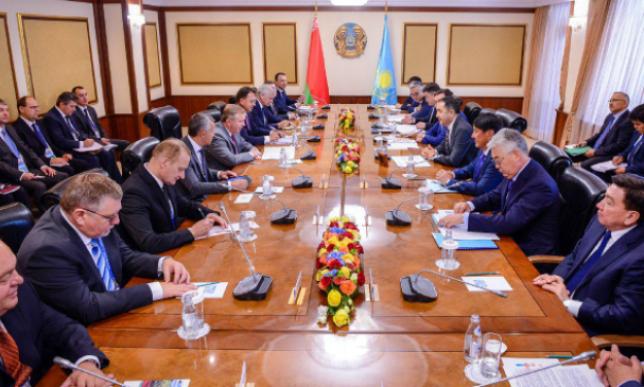 Б.Сагинтаев обсудил с Премьер-Министром Беларуси торгово-экономическое сотрудничество