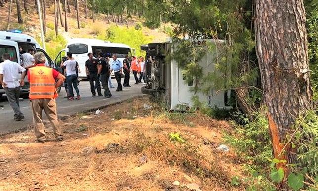 Среди пострадавших в аварии в Турции есть казахстанец