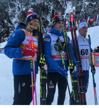 Алексей Полторанин выиграл этап Кубка мира в Планице