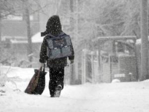 В Астане отменены занятия в школах для учащихся 0-4 классов