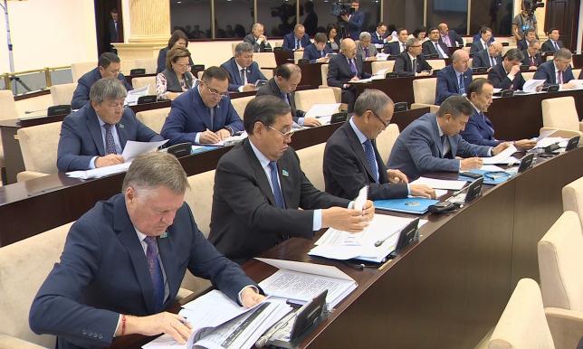 В Сенате презентовали проект бюджета на ближайшие три года
