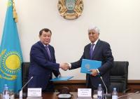 Подписан меморандум о сотрудничестве между Алматинской и Жамбылской областями