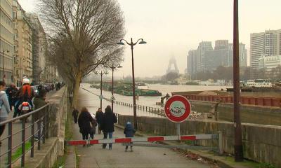 Парижді топан су басты