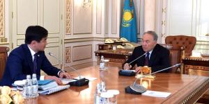 Глава государства встретился с акимом города Алматы