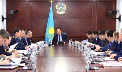 Б.Сагинтаев провел совещание по реализации поручений Президента РК
