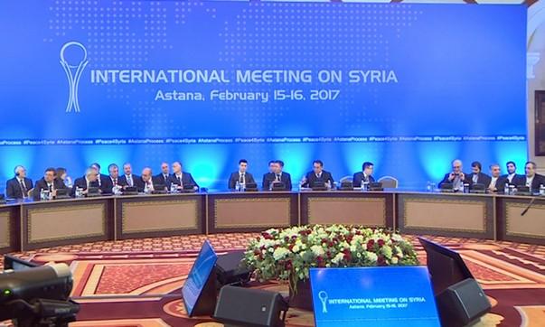 Очередной раунд переговоров по сирийскому урегулированию прошел в Астане