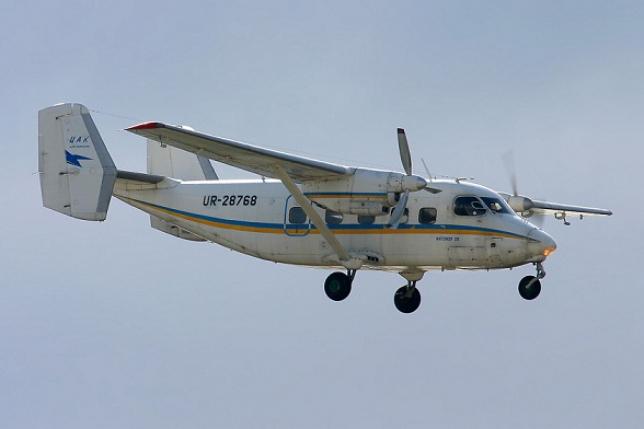 Самолет Ан-28 обнаружили горящим под Алматы