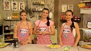 «Сиқырлы ас үй». Актриса Жәния Қалиева, актриса Гүлдәрия Дүйсенова