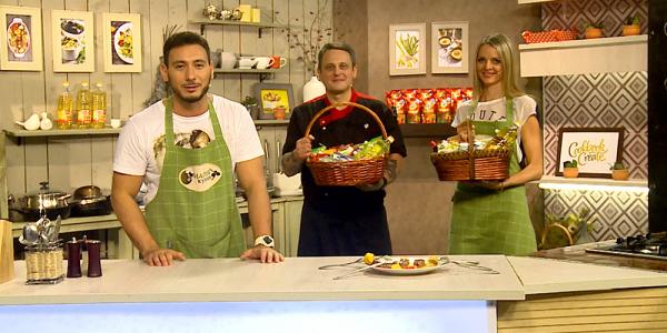 «Магия кухни». Говяжья вырезка с картофелем Шато от Евгения Назирова и Виктории Станевич