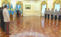 Президент РК провел встречу с сотрудниками органов внутренних дел