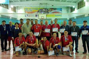 В Кокшетау прошел Чемпионат по волейболу среди ветеранов
