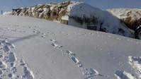 Павлодарские сельчане из-за снега оказались оторваны от внешнего мира