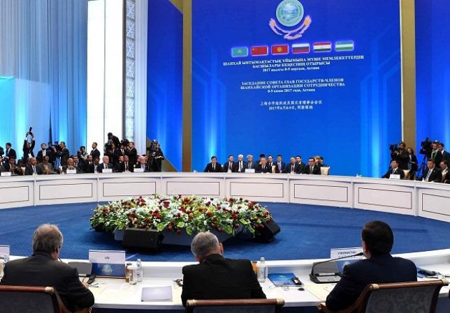 Н.Назарбаев принял участие в заседании Совета глав государств-членов ШОС в расширенном формате